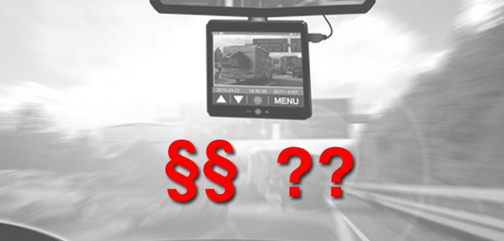 Sind Dashcams legal