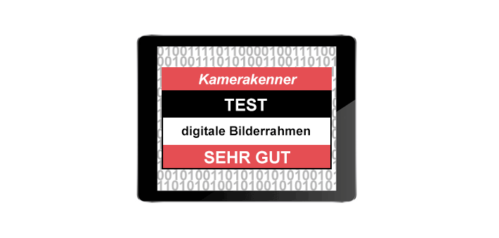 Test digitaler Bilderrahmen